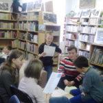 Tematické besedy pro žáky 5. ročníků (čeští ilustrátoři) - duben 2016