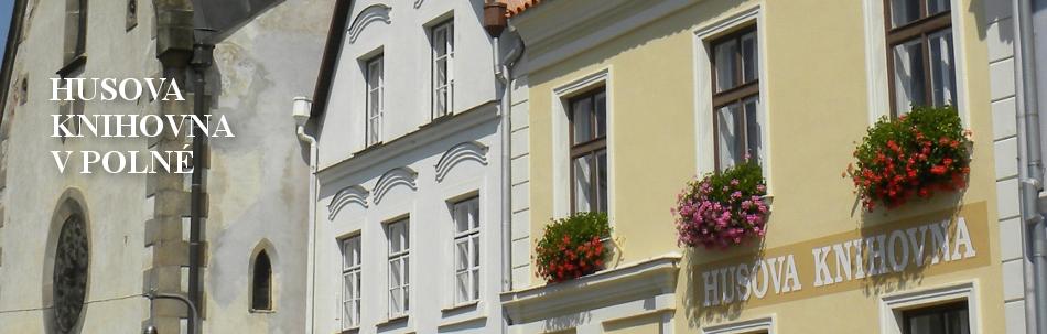 Husova knihovna v Polné